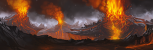 Volcano by Frayde