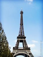 Eifel tower by Ailedda