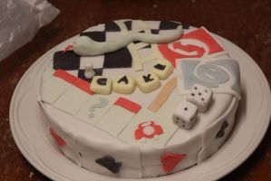 Board Game Cake II by thanxforthefish
