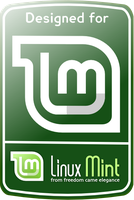 linux mint sticker 13 by Betosoft