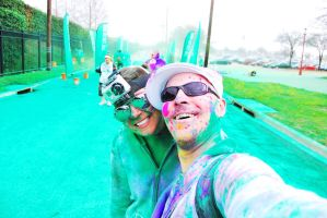 The Color Run.. Green by SublimeBudd