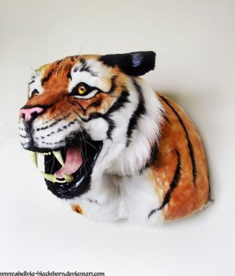 Tiger Lifesize 2 by Blackthorn-Studios