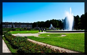 Castle grounds Herrenchiemsee by deaconfrost78
