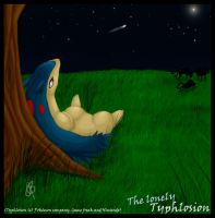 Typhlosion request2 +Lonely+ by Zoulouluvu