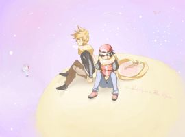PKMN: Fly me to The Moon by xhiro
