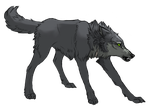 Wolf's Rain Collab:My part:Tsume WIP by Akadafeathers