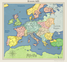 HRE Europe by Arminius1871
