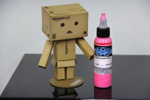 Danboard Scared Of Pink Ink by Shilvar