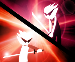 HS - Alpha Dirk vs Beta Dirk by Gav-Imp