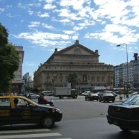 Teatro Colon in the sunny day by mirator