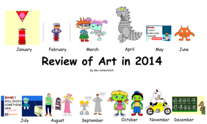 2014 Review of Art by dev-catscratch