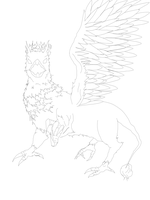 Gryphon(?/WIP) by kang2ting