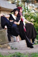 Magi: Ren Kouen and Judal by chibinis-chan