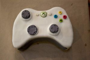 Xbox controller  21st cake by 1-Lilith-1