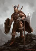 Viking warrior by peterhurman