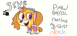 Skye from Paw Patrol by TannerxDelia