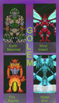 Improvement-Club -June's Challenge - The 4 Golems by dragonfire53511