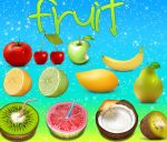 fruit frutas by alenet21tutos