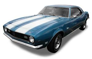 Muscle car png by DoloresMinette
