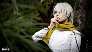 Mushishi Ginko by evalime