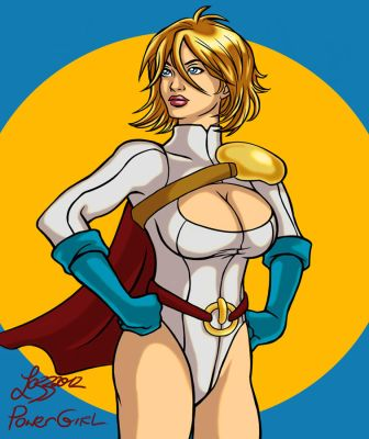 Power Girl by bratchny