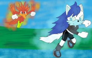 Fire And Ice :Collab: by lizardman22