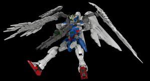 Lego Wing Gundam Zero EW (Custom): Final Shot! by mithrylaltaire