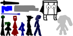 Pivot Cave Story Stickpack by thebrony123