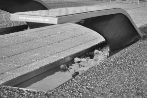 Pentagon Memorial 2 by MeKamalaPhotography
