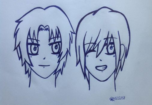 [Request] Guren and Shinya by SqueakySyrup