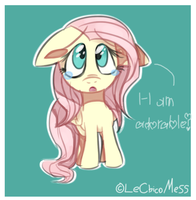 I-I am adorable? by LeChicoMess