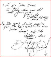 Letter from MJ to his fans 1 by Princess-rachael