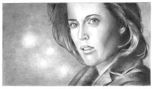 Dana Scully, 2 version by jojokersina