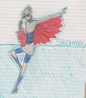 Skarmory Gijinka by faithinthemusic
