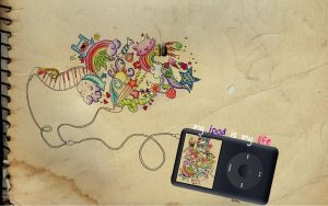 my ipod is my life by artistiquegirl