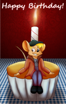 Relax on the cake by Adamiro