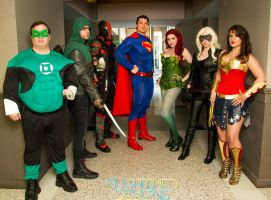 DC Character Cosplay by PhoenixForce85
