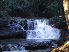 Waterfall 018 - Stock by EasternBrumbyStock
