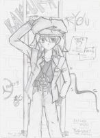 My first Ryou drawing by mingming07