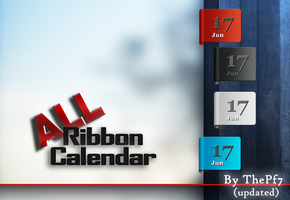 Ribbon Calendar by ThePf7
