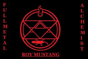 ROY MUSTANG LOGO WALLPAPER by ParkesietheHedgehog