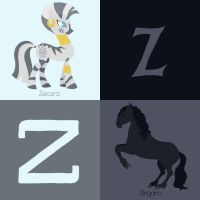 Z for Horse by Citron--Vert