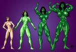 She Hulk Tranformation by ericalannelson