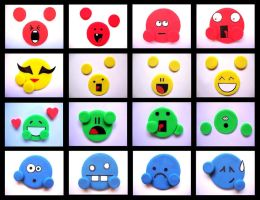 Playdoh Emotes 2.0 by PurplegreenXD
