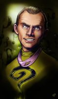 The Riddler - Frank Gorshin by Klar-Jezebeth