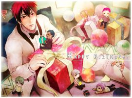 Happy birthday, Kagami! (2) by applelovesjelly