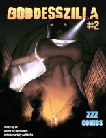 Goddesszilla 2 Cover by zzzcomics