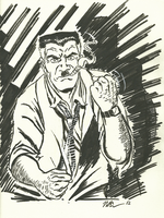J. Jonah Jameson sketch by CagsCreations