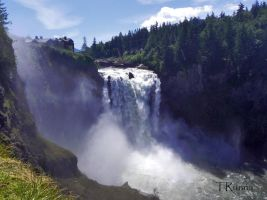 Snoqualmie Falls by TRunna
