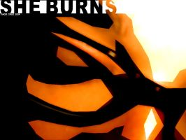 She Burns by Caddielook